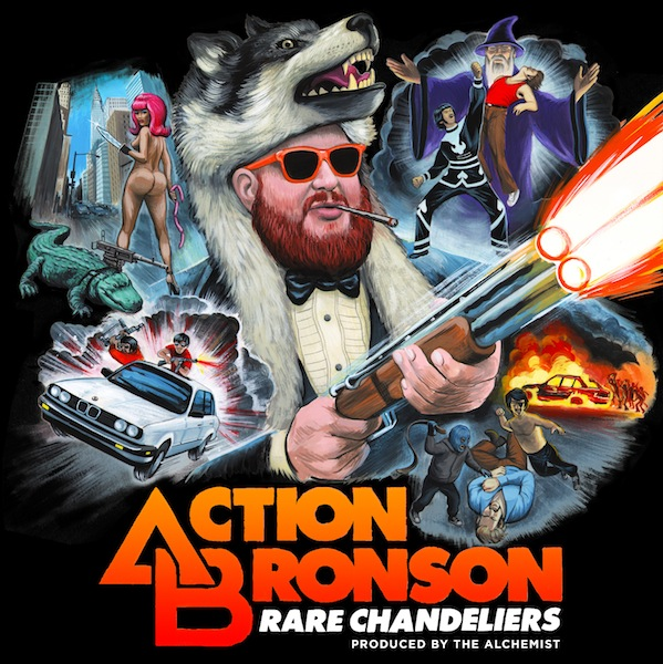 Free Download: Action Bronson & The Alchemist – Rare Chandeliers