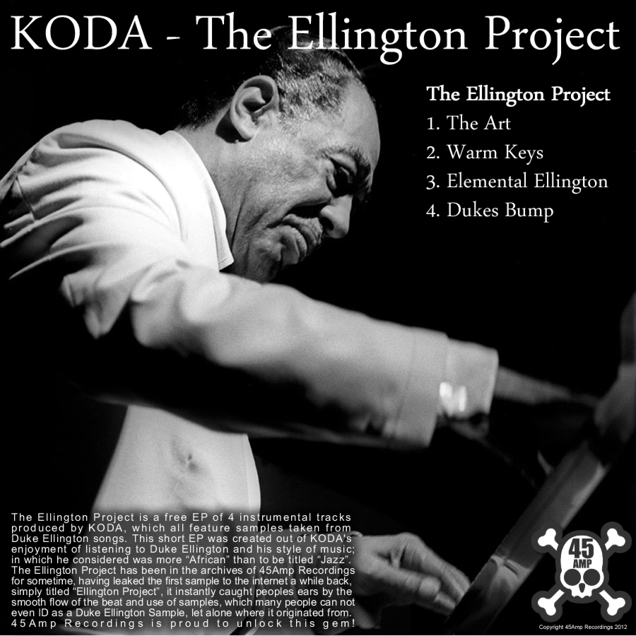 Free Download: KODA – The Ellington Project (2012)