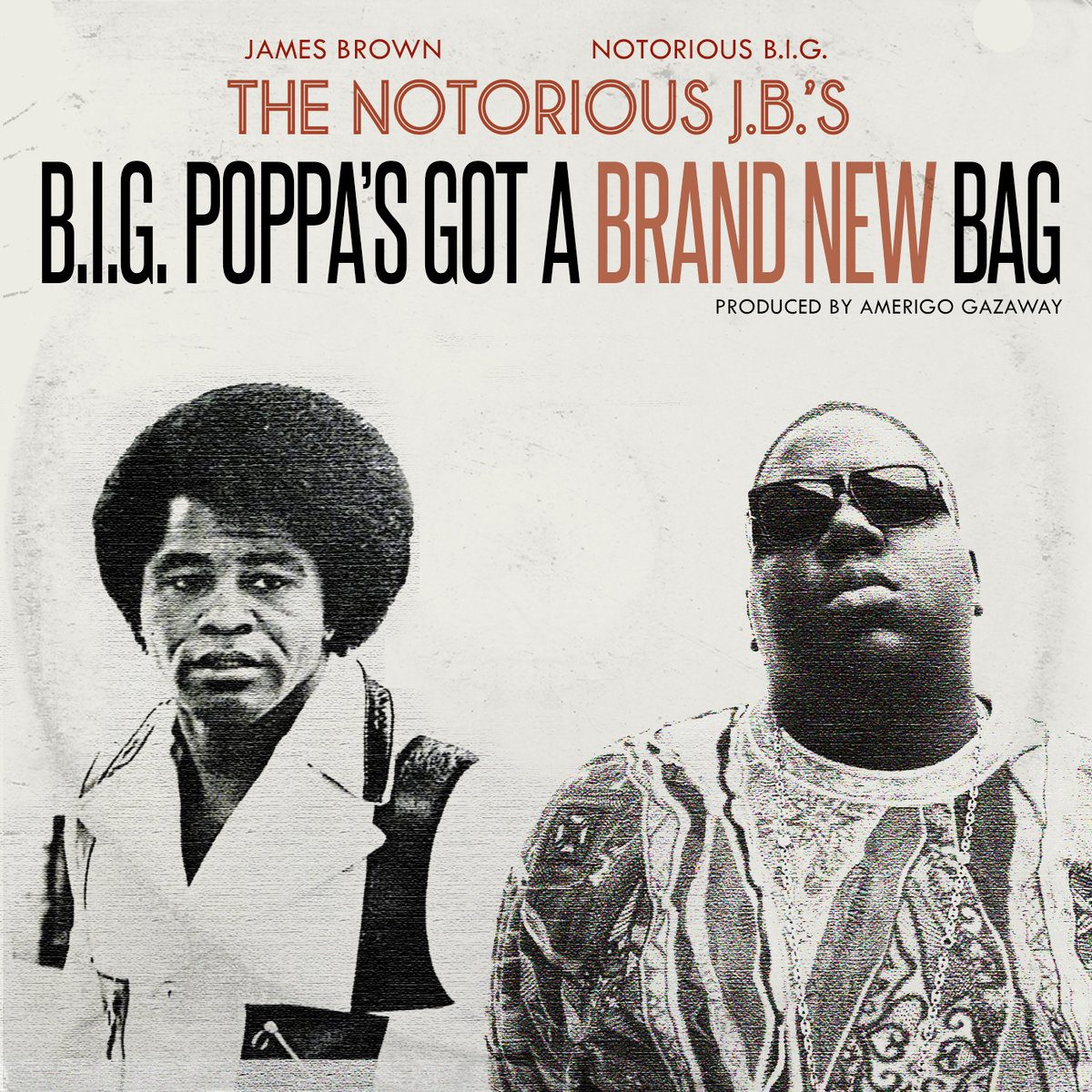 Amerigo Gazaway is back at it again: listen to 10 The Notorious J​.​B​.​'s tracks