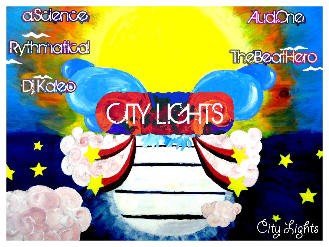 Free Download: Ascience, Rythmatical, Aud.One, Kaleo & TheBeatHero – City Lights (2011)