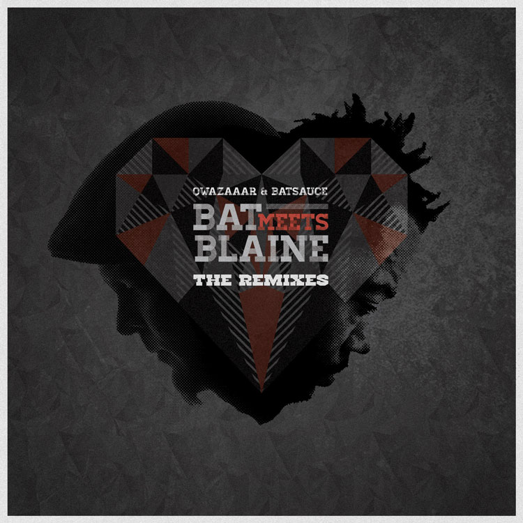 Free Download: Qwazaar & Batsauce – Bat Meets Blaine Remixes (2012)