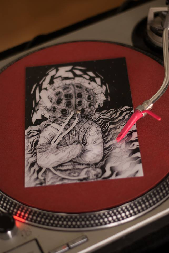 "Giveaway: Vinyl Postcard of Blindspot's ""Astromedic"""