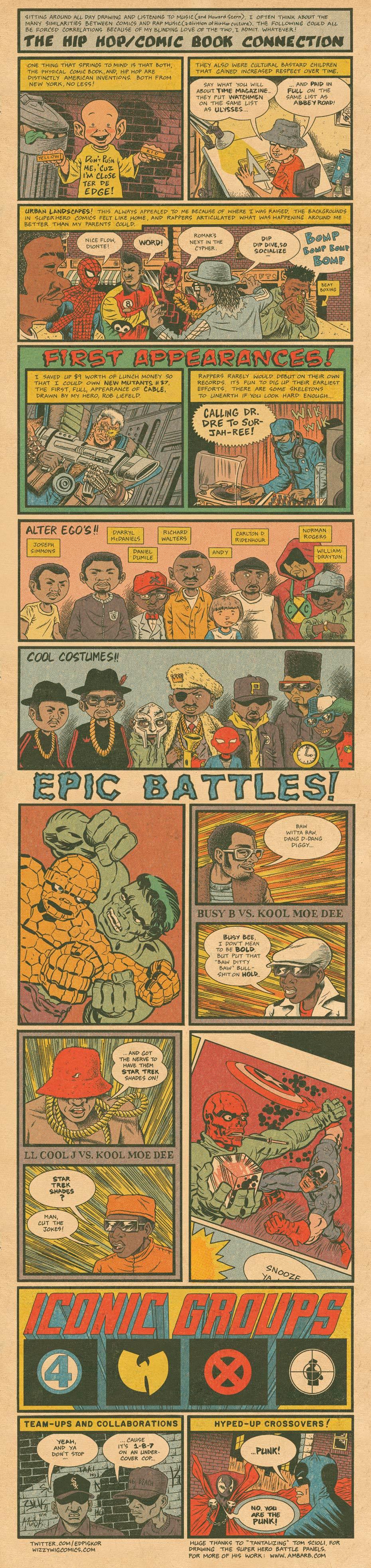 Art: Brain Rot – The Hip Hop / Comic Book Connection