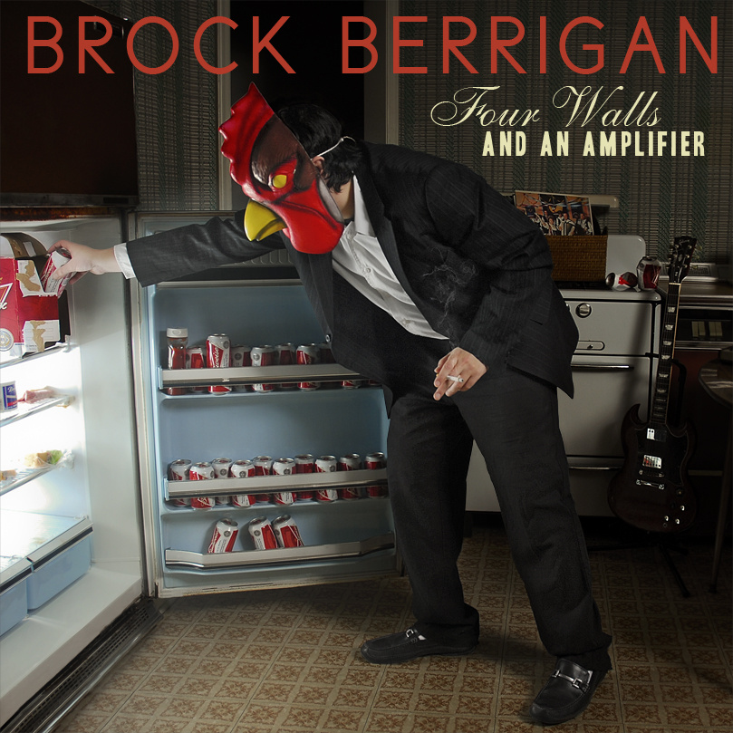 Listen: Brock Berrigan – Four Walls And An Amplifier