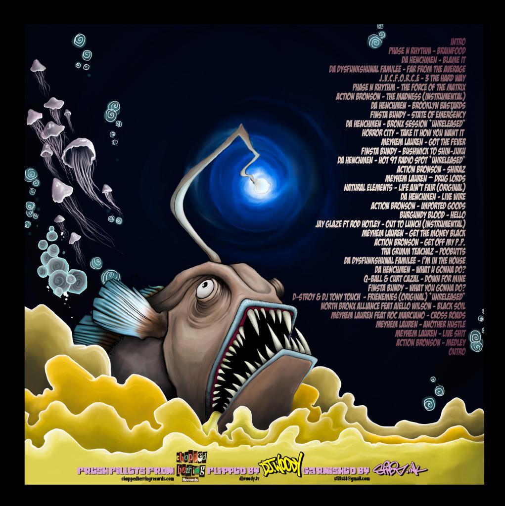 Mix: Chopped Herring Records presents DJ Woody – Fly Fishing
