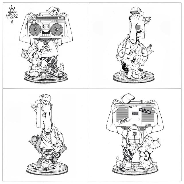 Chris B. Murray Rap Kings Toy Kickstarter