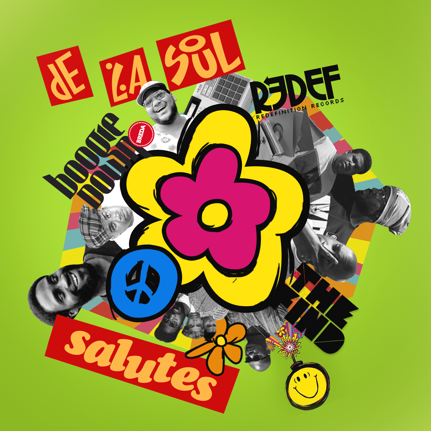 Free Download: Various Artists – De La Soul Salutes EP (2011)
