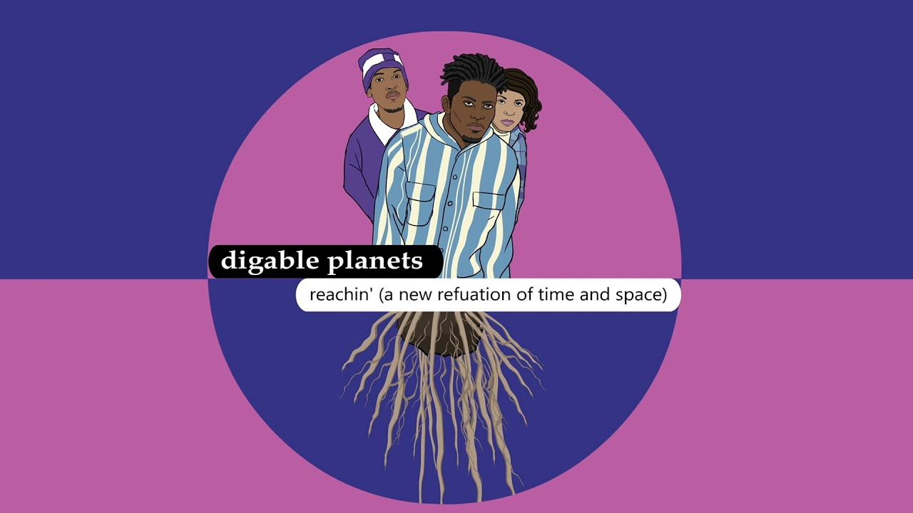 "An Animated Look at Digable Planets' ""Reachin' (A New Refutation of Time and Space)"""
