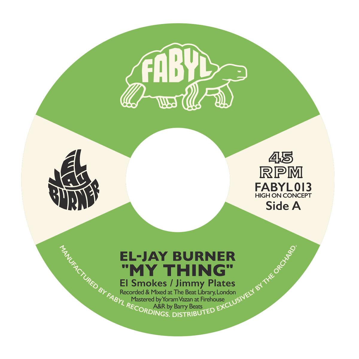 El-Jay-Burner-My-Thing-Vinyl