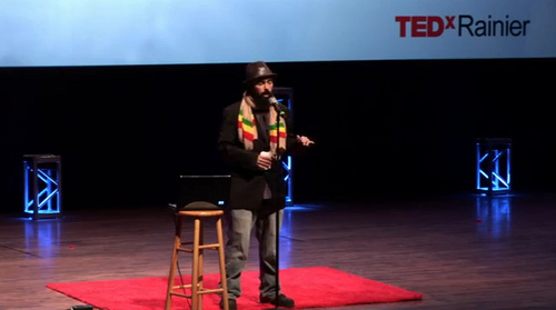 Video: Gabriel Teodros – Hip Hop & Science Fiction (TEDxRainier)