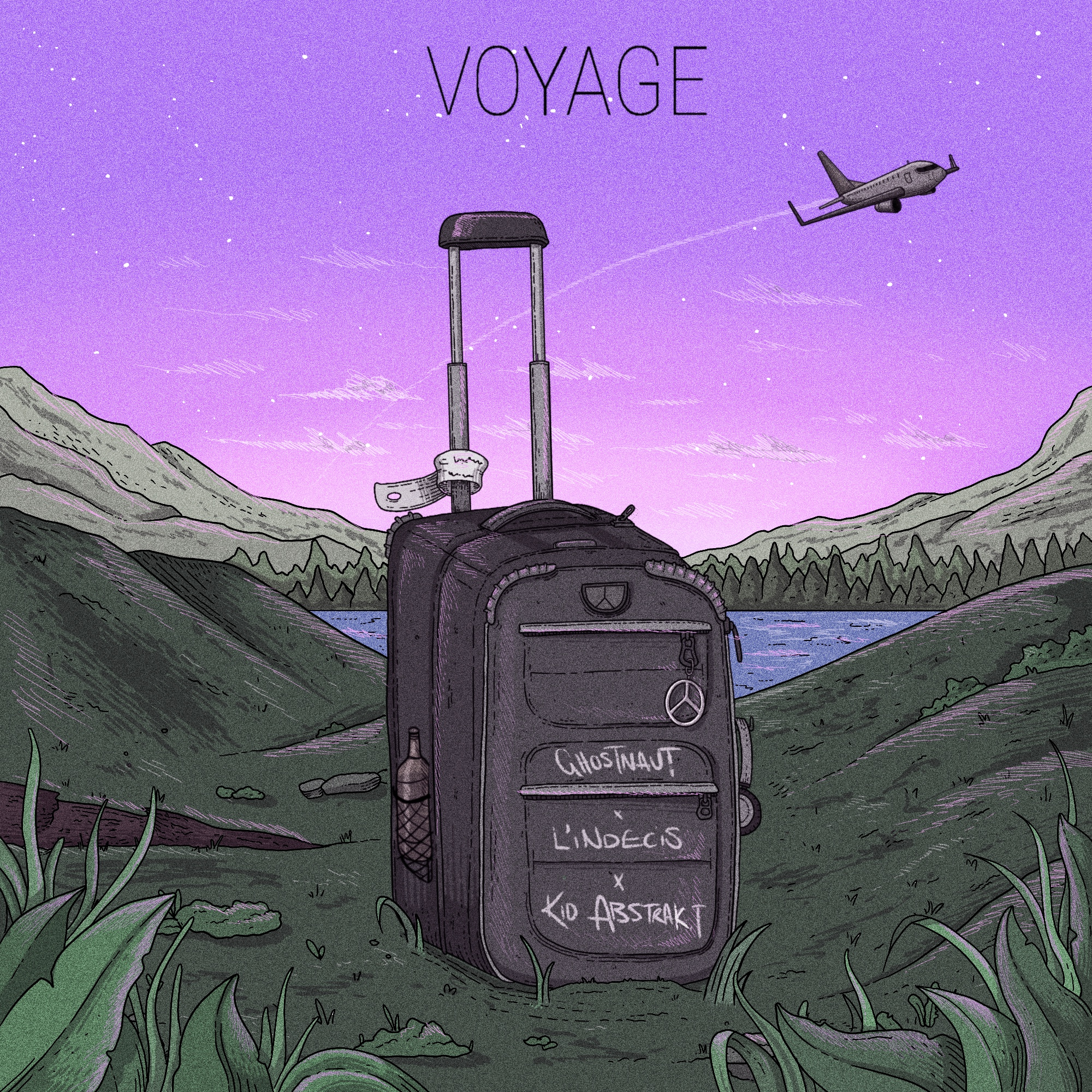 The Find Premiere: Ghostnaut, Kid Abstrakt & L'Indécis – Voyage