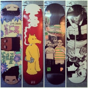 Art: Hip Hop Skate Decks