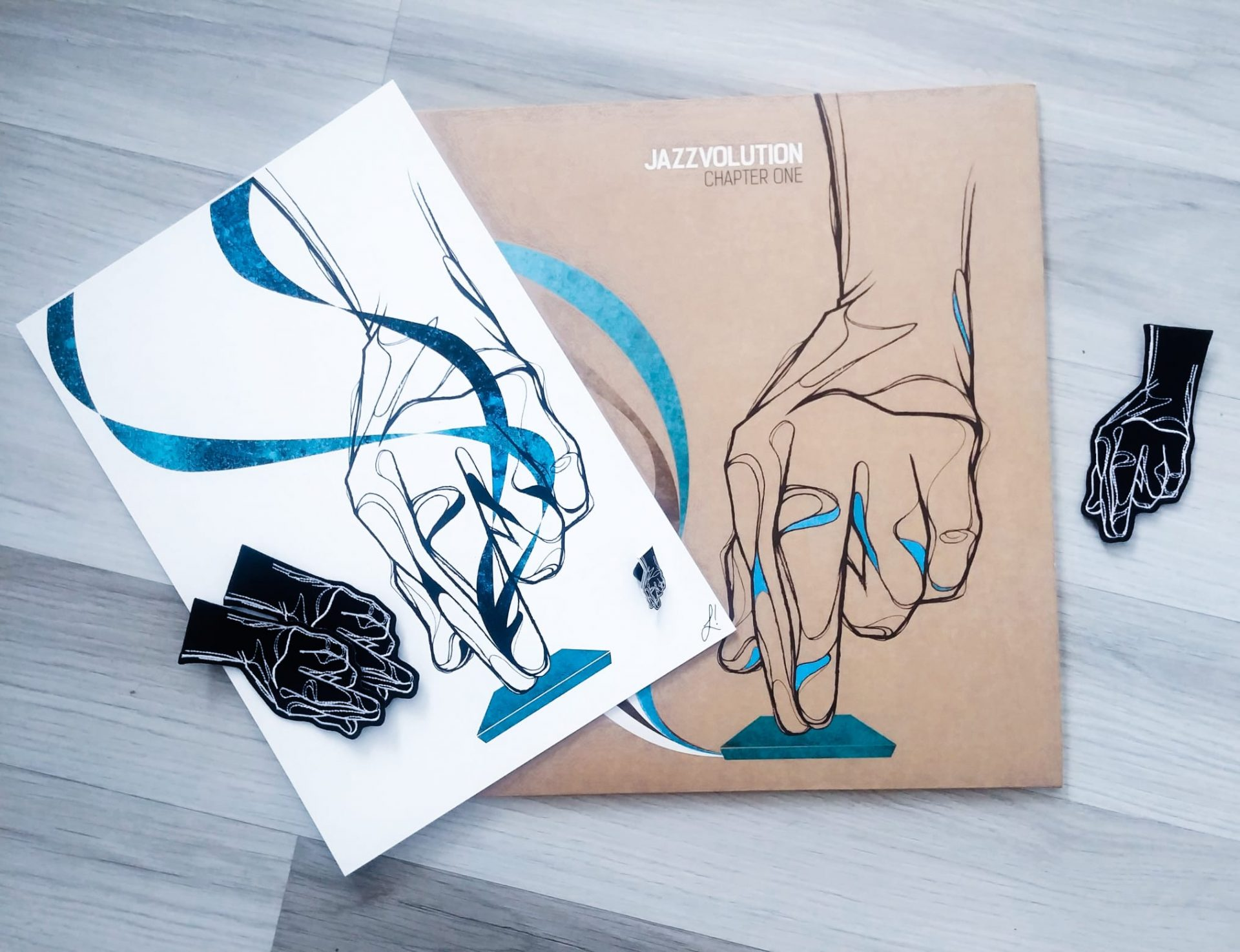 'Jazzvolution' MPC hand Art Pack (Limited Run of 30)