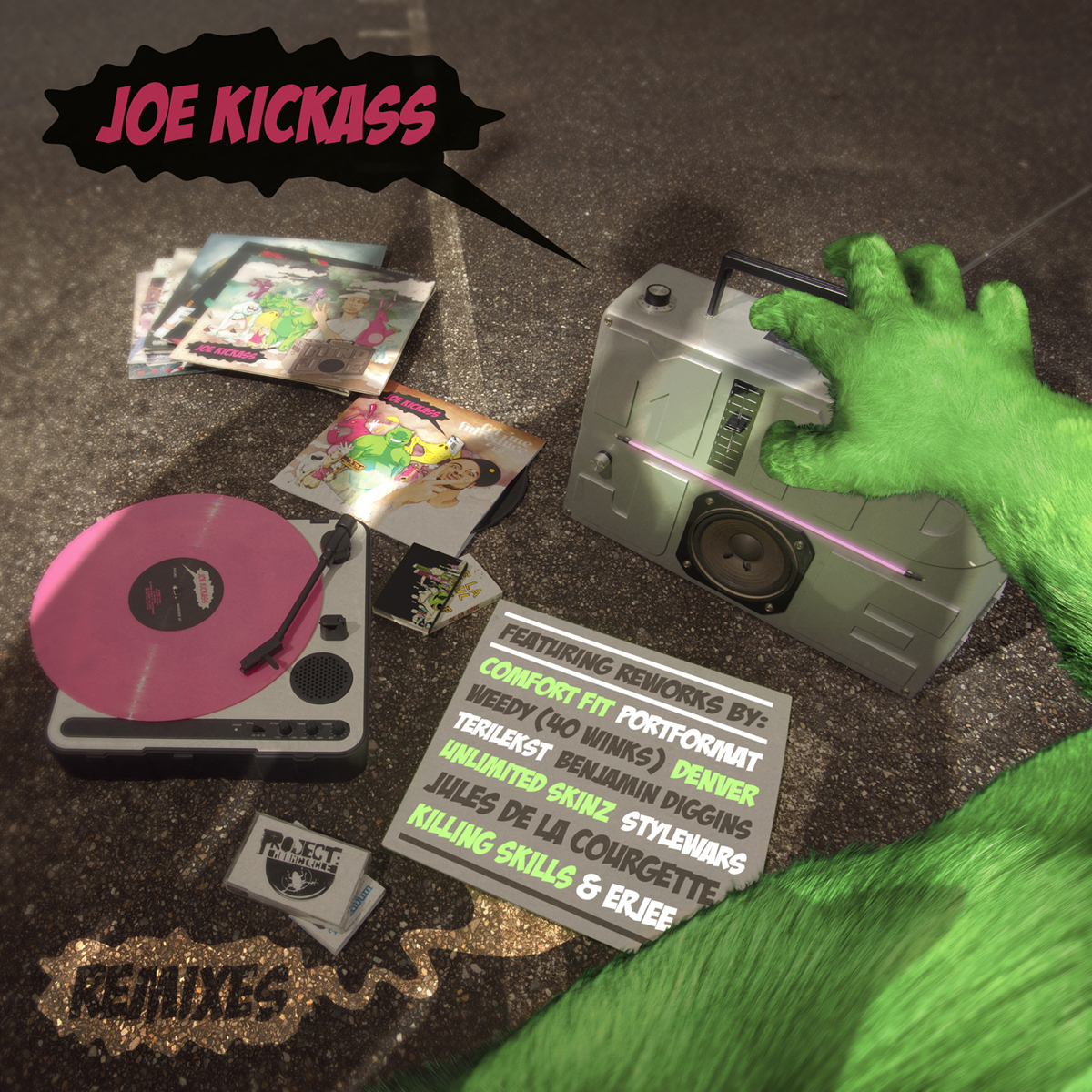 Free Download: Joe Kickass – Mind Joe Remixes (2011)