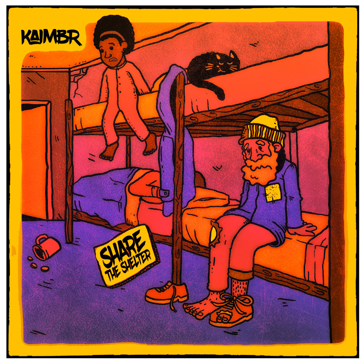 Kaimbr – Share The Shelter LP (Bonus Edition ft. Kev Brown, Grap Luva, Kenn Starr)