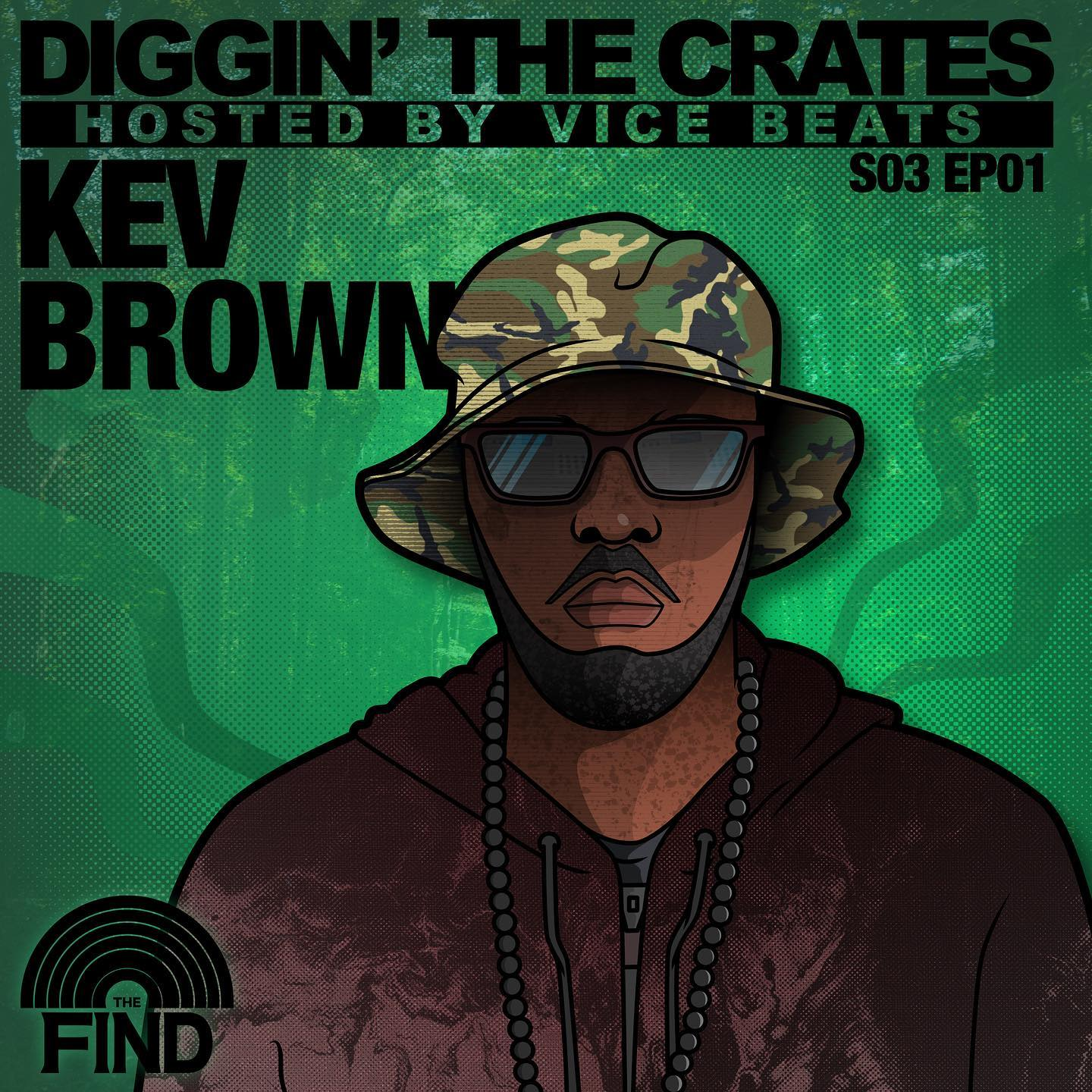 Our Diggin' The Crates Podcast is Back: Kev Brown (Season 3 Kick-off)