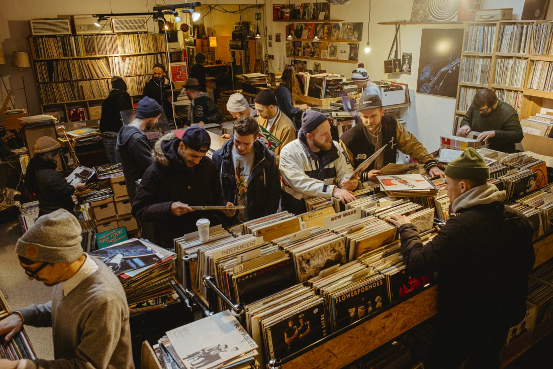 Record Store Digging Germany