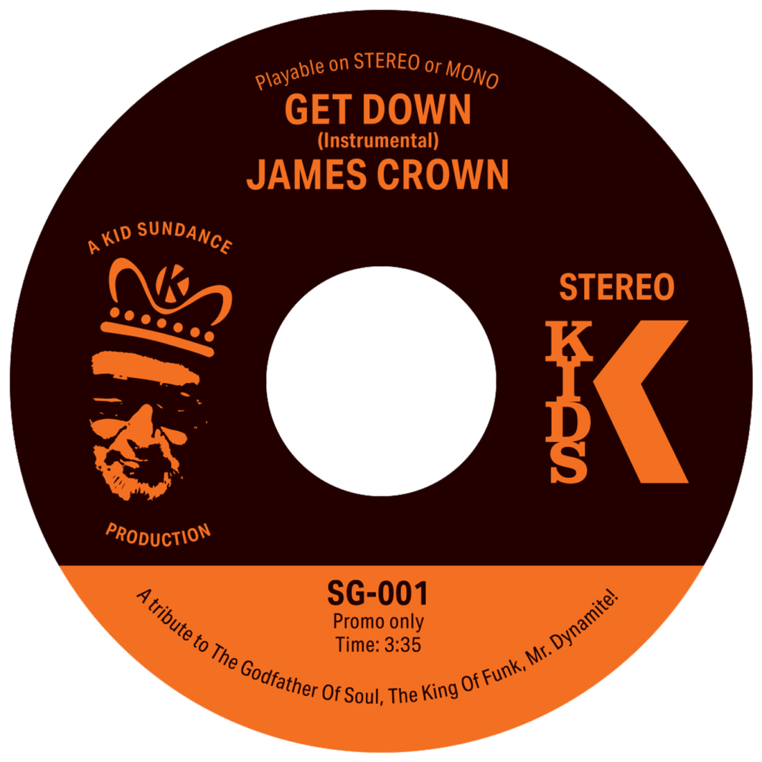 James Crown Get Down Kid Sundance