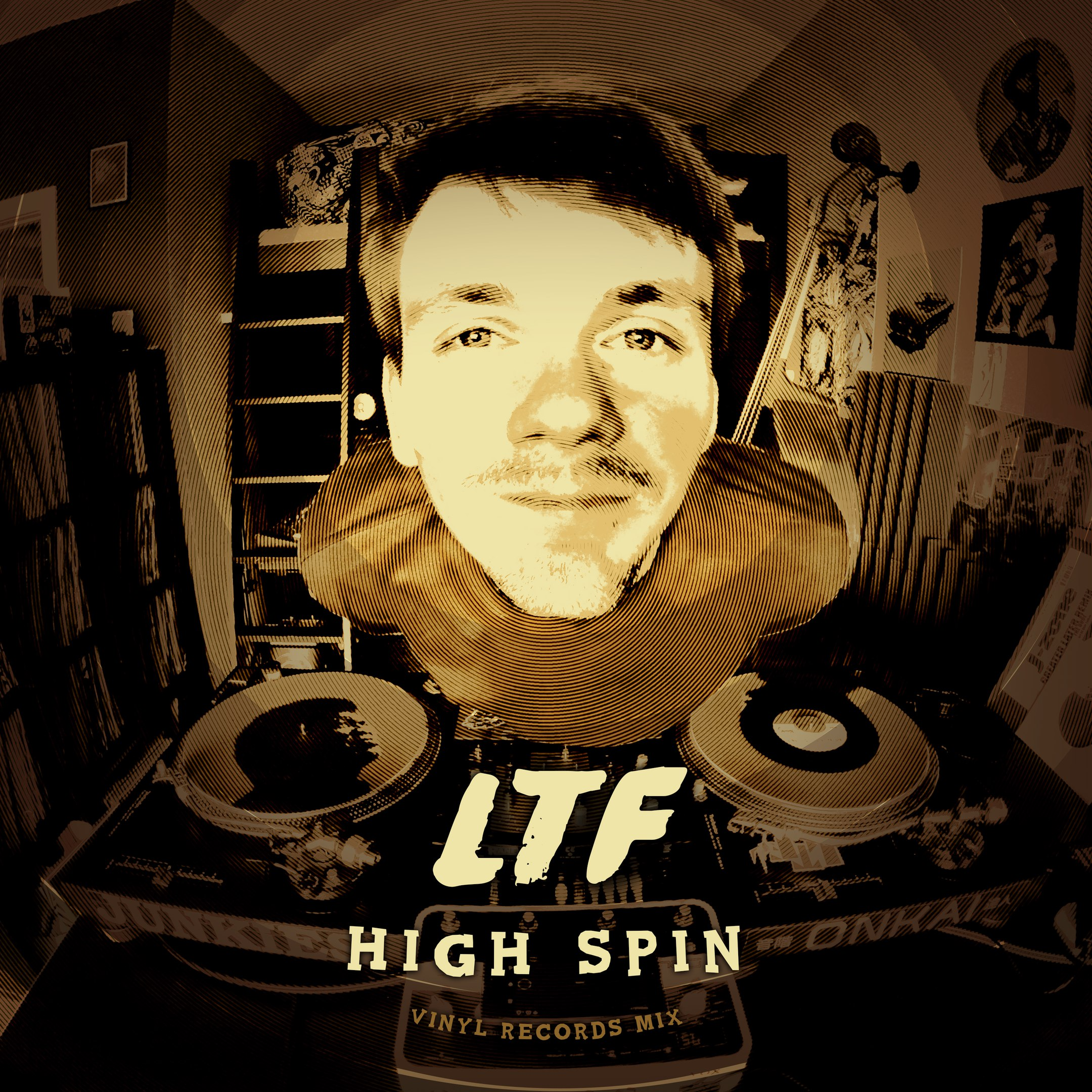 Guest Mix: LTF (Black Milk Music) – High Spin (All-Vinyl Mix)