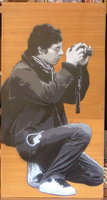 Art Interview: Lucamaleonte
