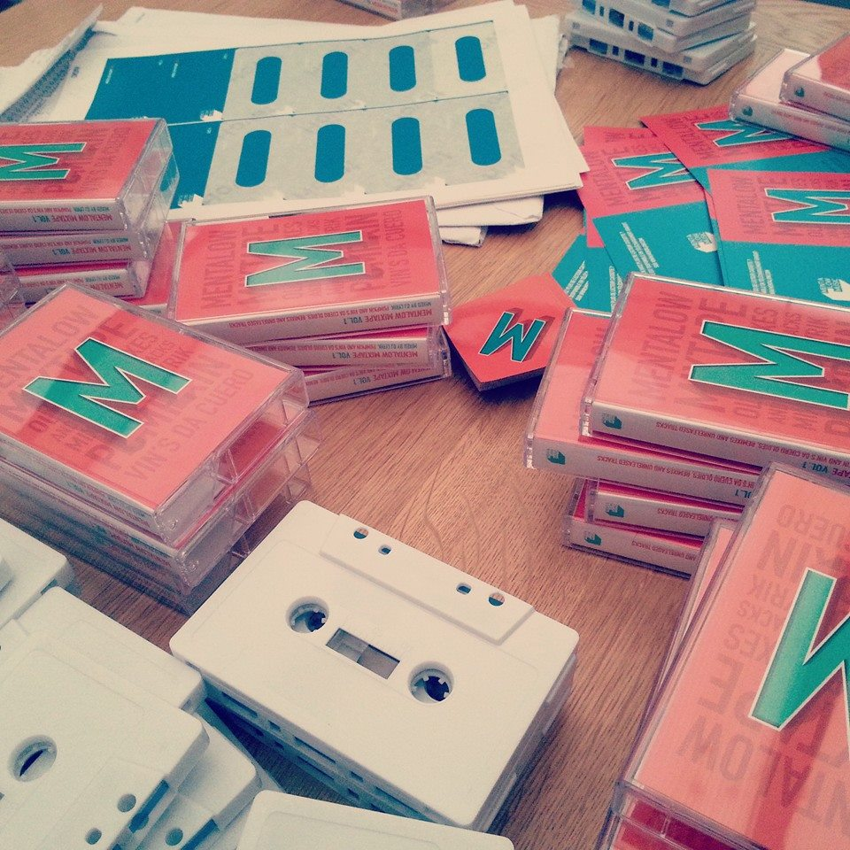 Giveaway: Mentalow's first mixtape on cassette