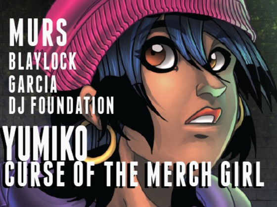 News: Murs – Yumiko: Curse of the Merch Girl Graphic Novel and Album