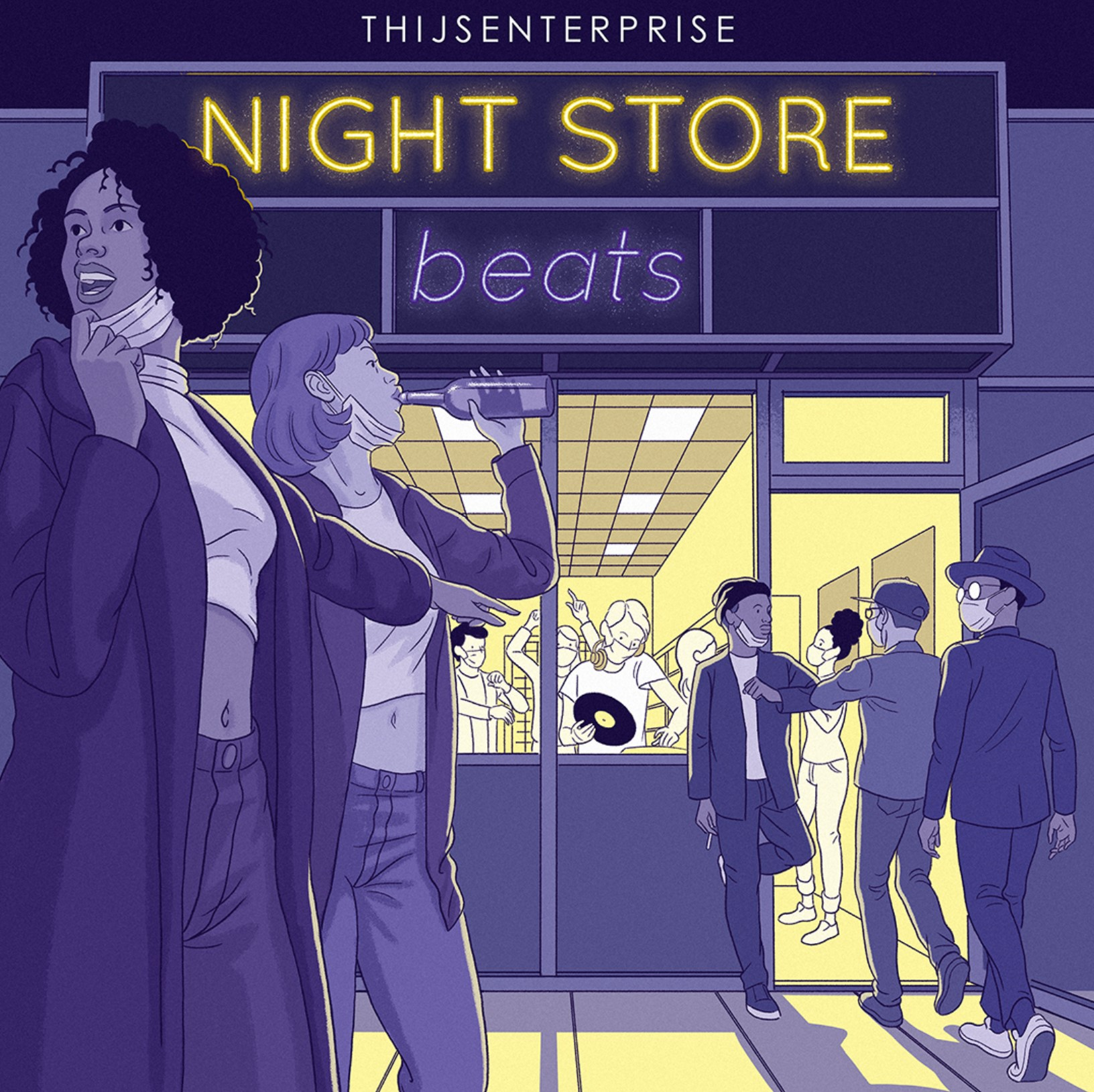 Soul Food, Skunk Breaks & Night Store Beats (Two New Beat Tapes)
