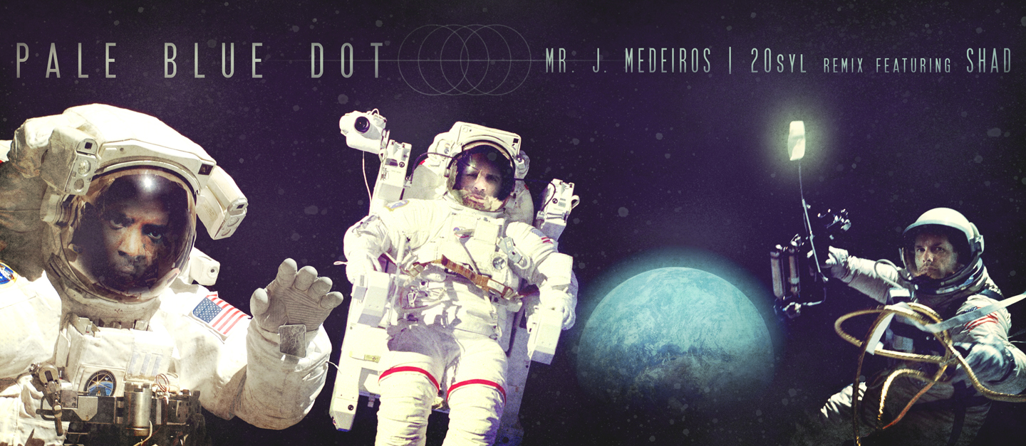 Free MP3: Mr. J Medeiros – Pale Blue Dot (20syl Remix ft. Shad)