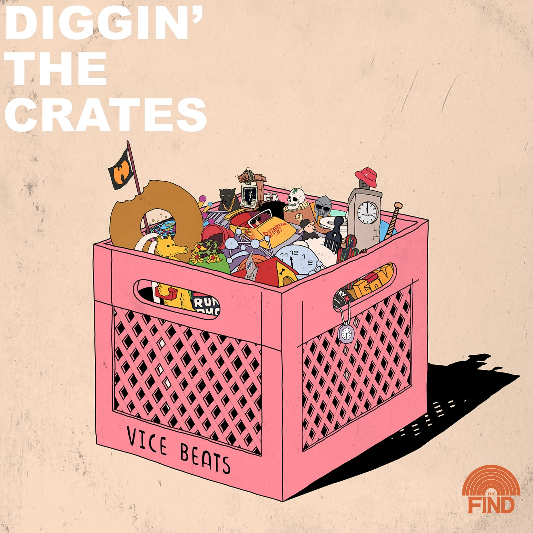 ANNOUNCEMENT TRAILER: Diggin' The Crates S02 [A Podcast by The Find & Vice beats]