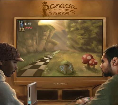 News: Re-release of Panacea's sophomore album 'The Scenic Route'