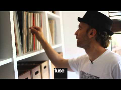 Video: Inside Peanut Butter Wolf's vinyl collection