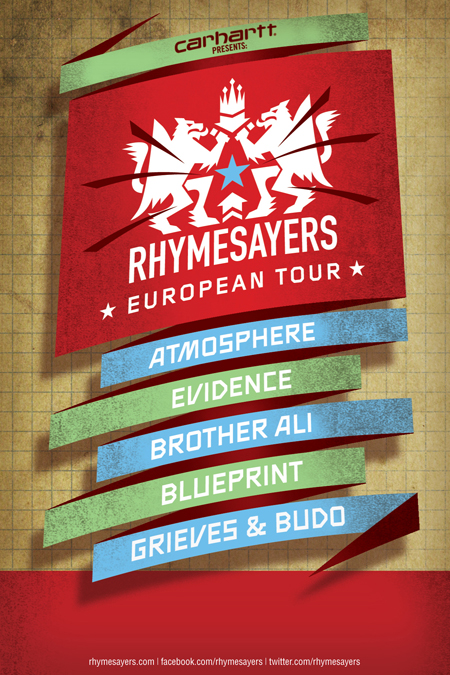 News: Chrisfader winner of Rhymesayers' European Tour Mixtape contest