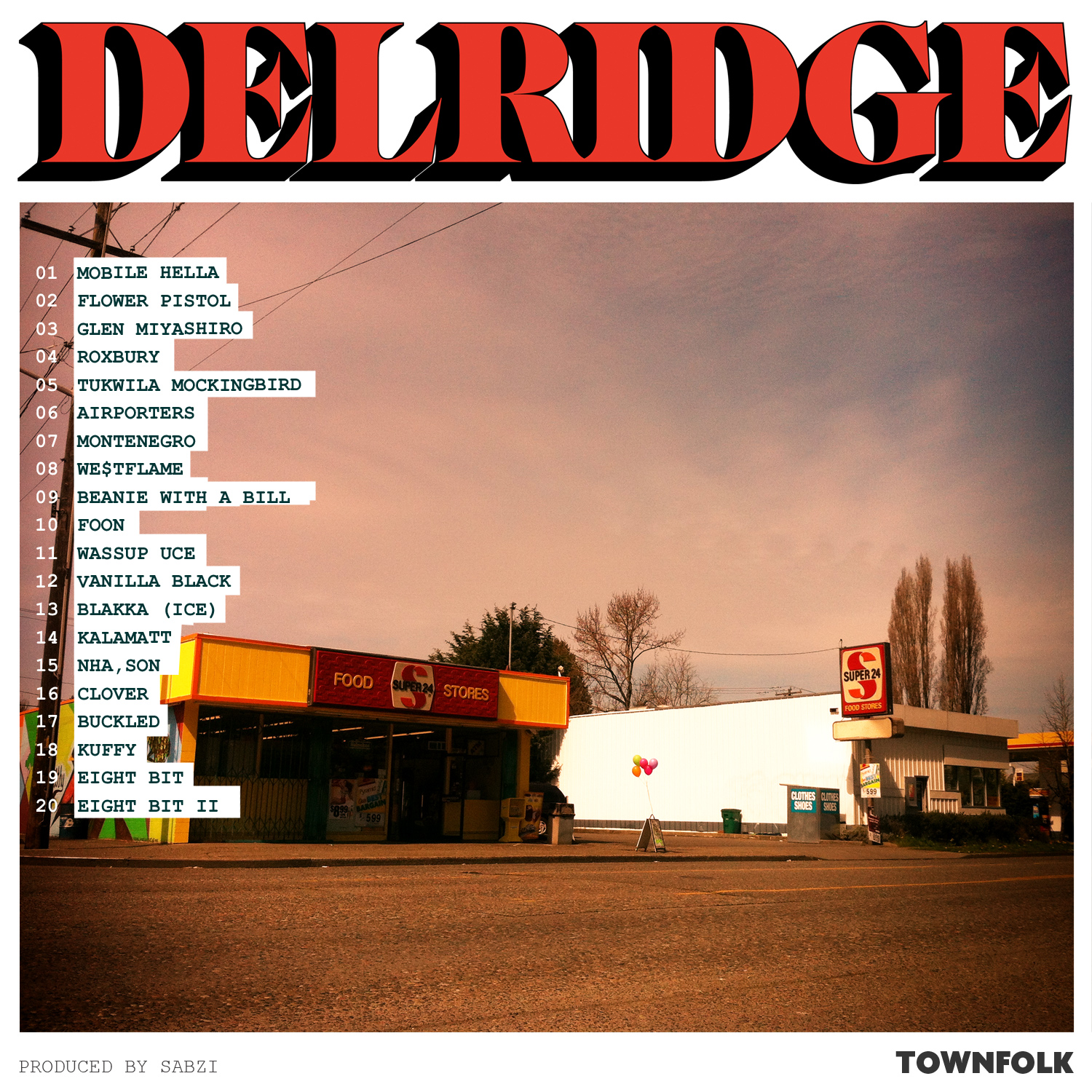 Stream: Sabzi (of Blue Scholars) – Delridge (2012)