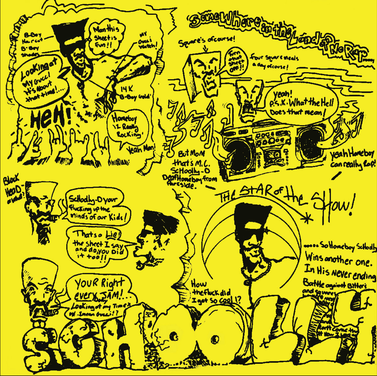 A Reissue of Schoolly D's 1985 Self-Titled Debut LP—From Russia!