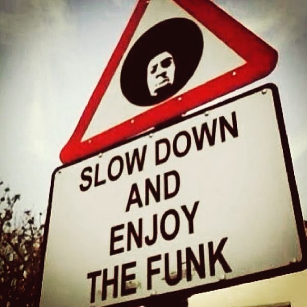 Slow-Down-Enjoy-Funk-Traffic-Sign