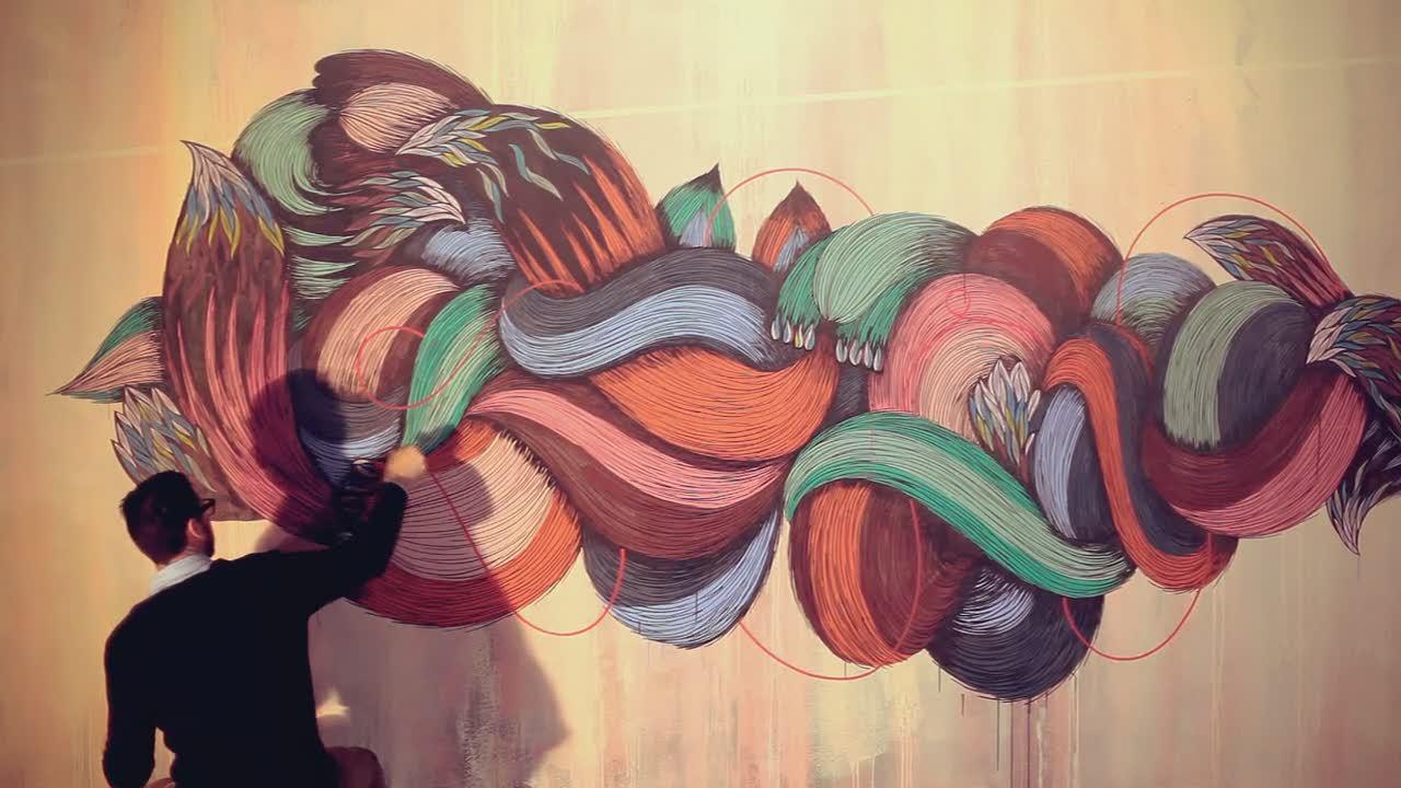 Art: SupaKitch and Koralie – Euphorie (Paris)
