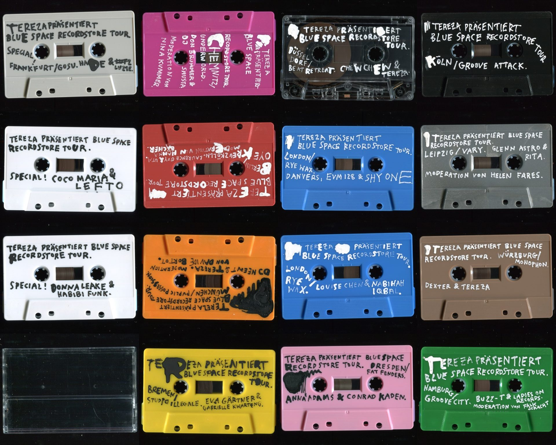 Cassettes for a Cause: Bid on Tapes with LeftO, Dexter, Habibi Funk, Glenn Astro & others to Support an Anti-Discrimination Charity