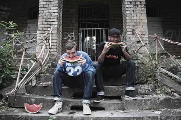 News: Concept album 'Geldfundphantasyen' by Flatpocket (Twit One & Lazy Jones)