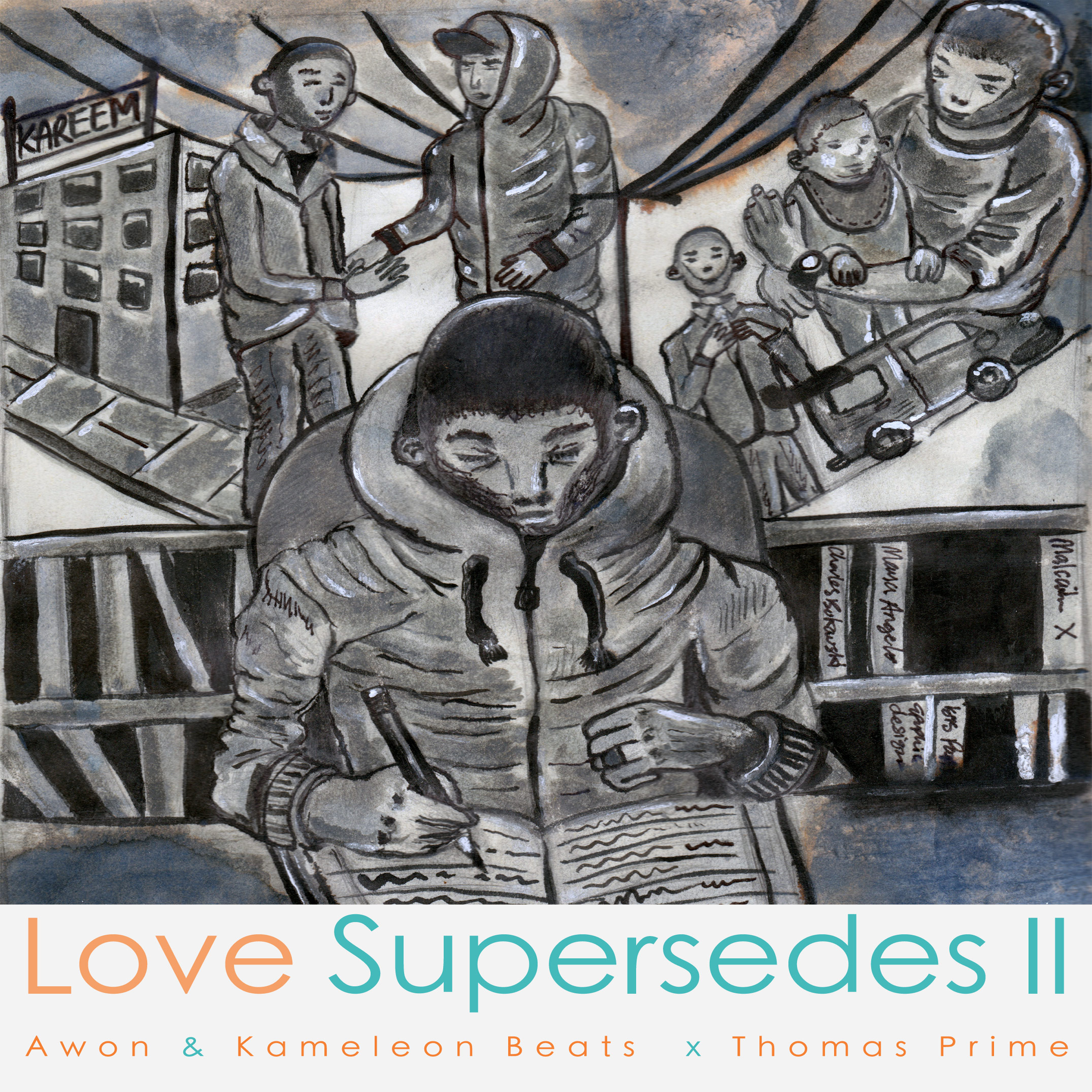 Free Download: Awon, Kameleon Beats & Thomas Prime – Love Supersedes II (2012)