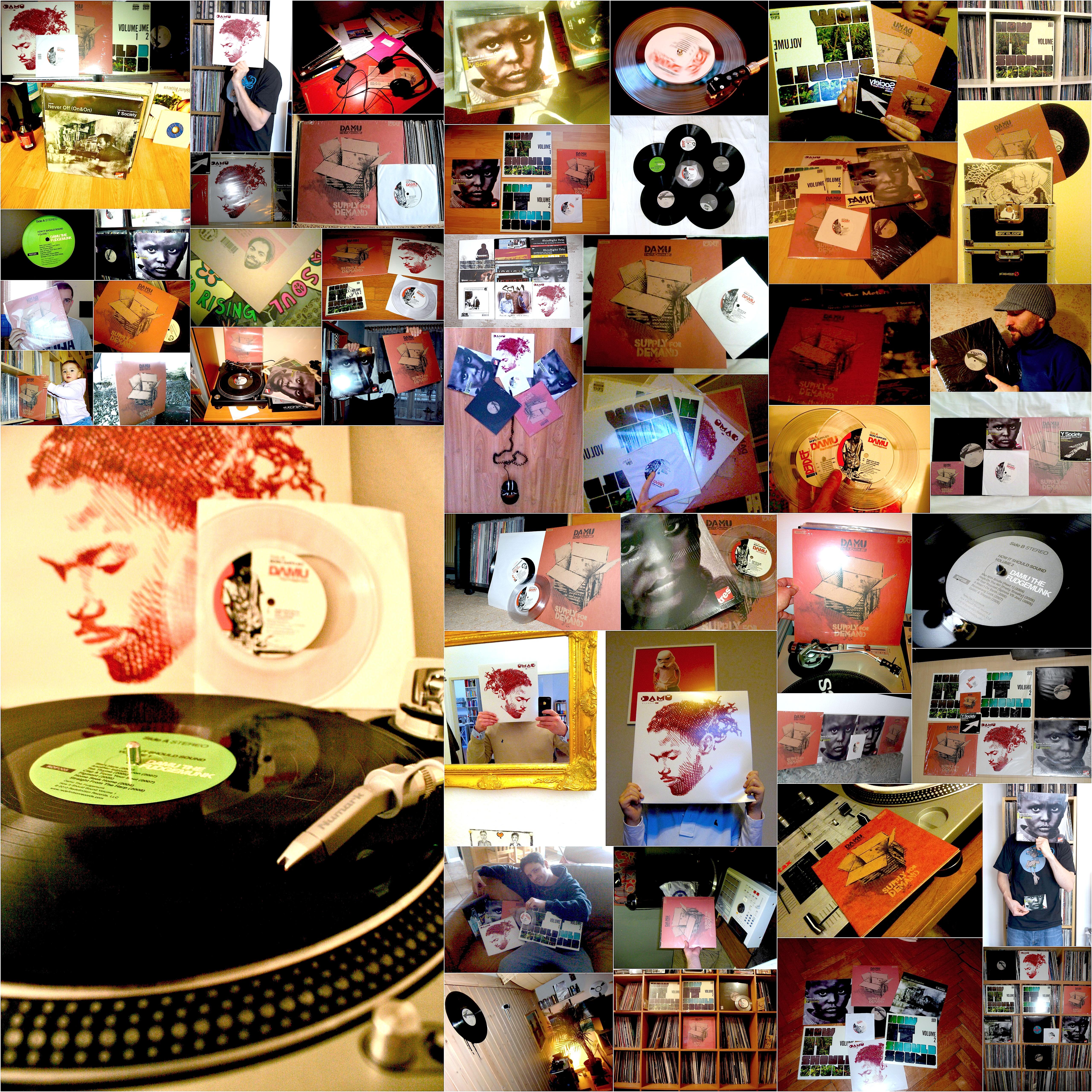 Winners: Damu The Fudgemunk 7″ record contest