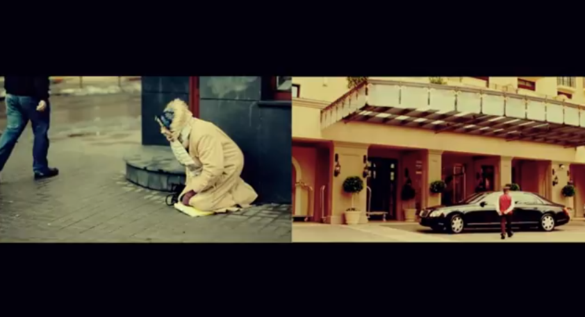 Video: D Strong & Dave Sparkz – Rich Man Poor Man