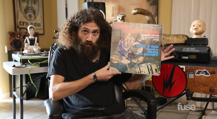 Video: Cratediggers – The Gaslamp Killer's Vinyl Collection