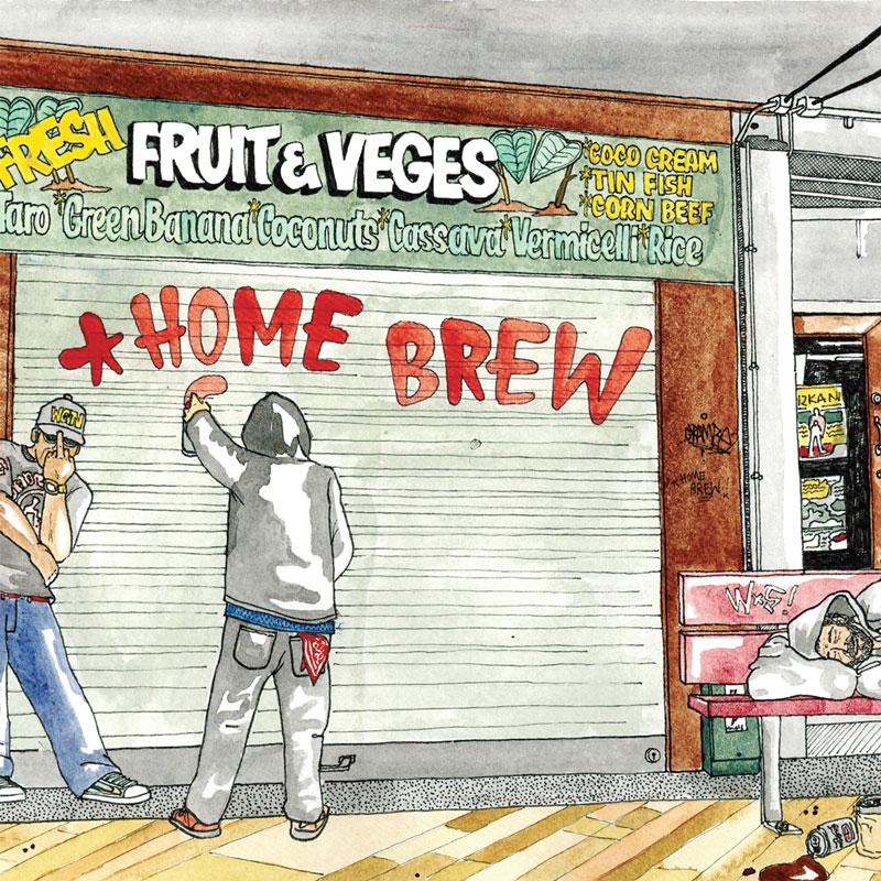 Stream: Home Brew Crew – Home Brew (2012)