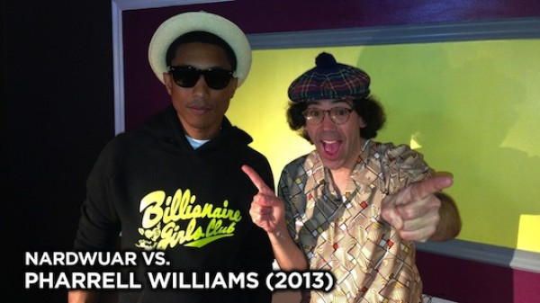 Video: Pharrell Williams Vs. Nardwuar