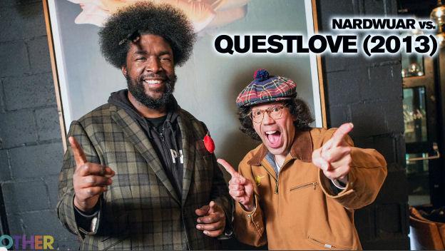 Video: Nardwuar vs. Questlove