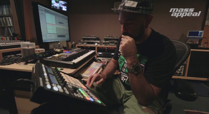 Watch: Rhythm Roulette with DJ Nu-Mark (Jurassic 5)