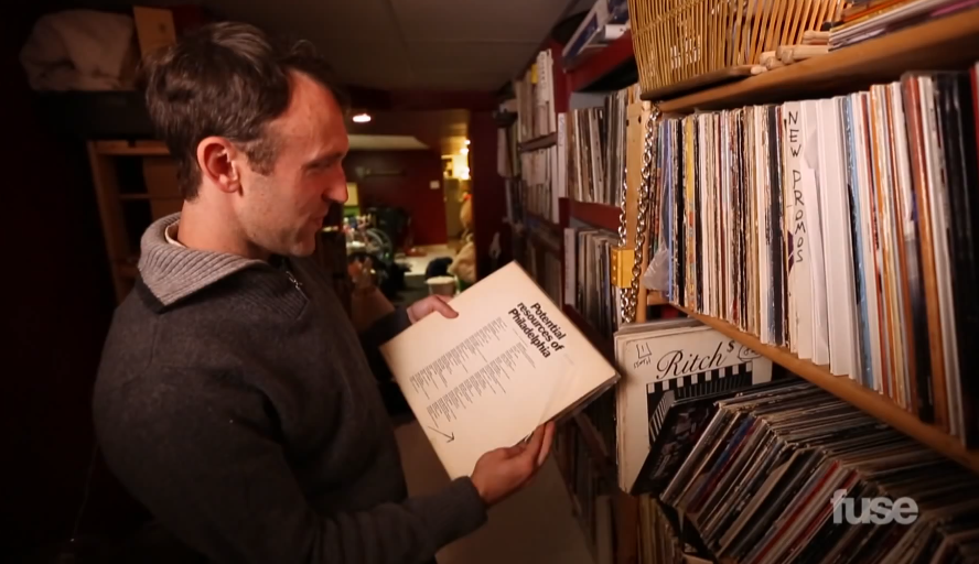 Video: Crate Diggers – RJD2's Vinyl Collection