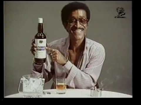 Old School Japanese Whisky Commercial with Sammy Davis Jr. (1974)