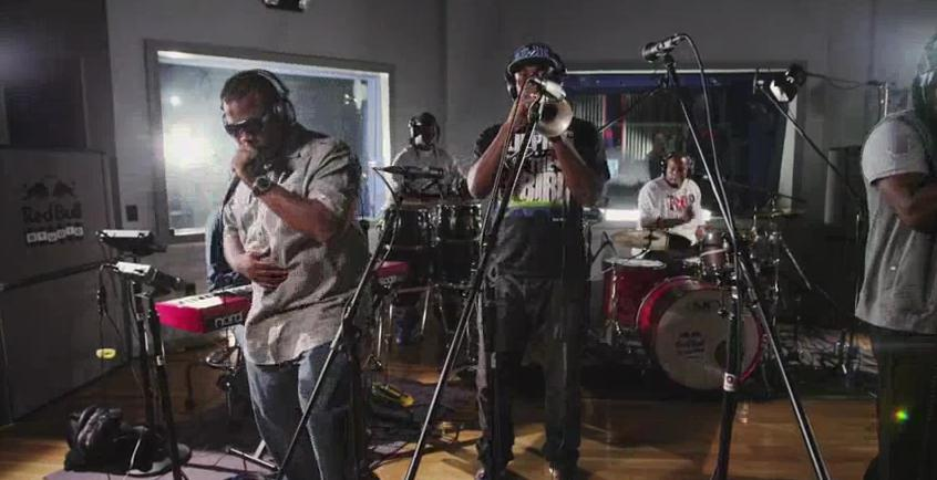Video: Stooges Brass Band – True Stories (Live @ Red Bull Studios)