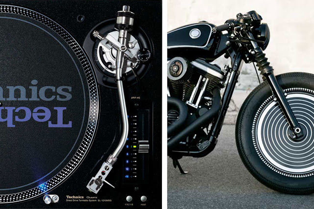 News: Motorcycle inspired by Technics SL-1200 turntable